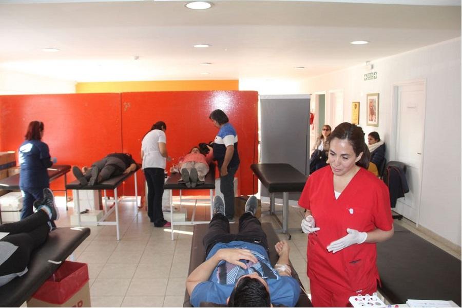 Exitosa jornada de donación de sangre en memoria de Stefano Suá