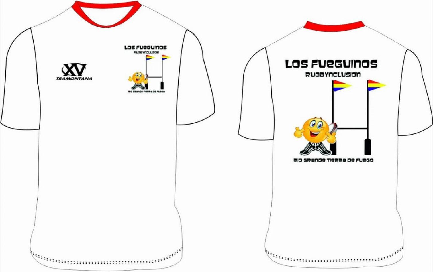 Camisetas del Rugbynclusión.