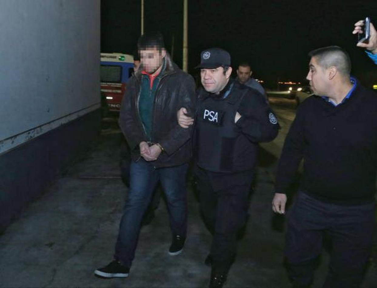 Traslado de recluso del Servicio Penitenciario hacia el Penal de la localidad de Esquel
