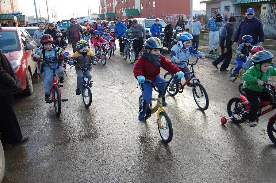 Bicicleteada Solidaria como cierre de actividades en el mes del Autísmo