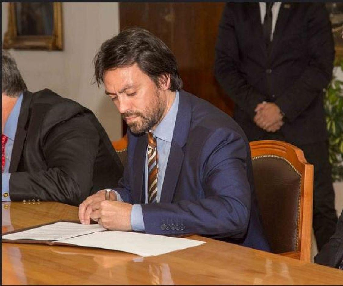 El Presidente del Instituto Provincial de Vivienda de Tierra del Fuego (IPV), Gustavo Vázquez