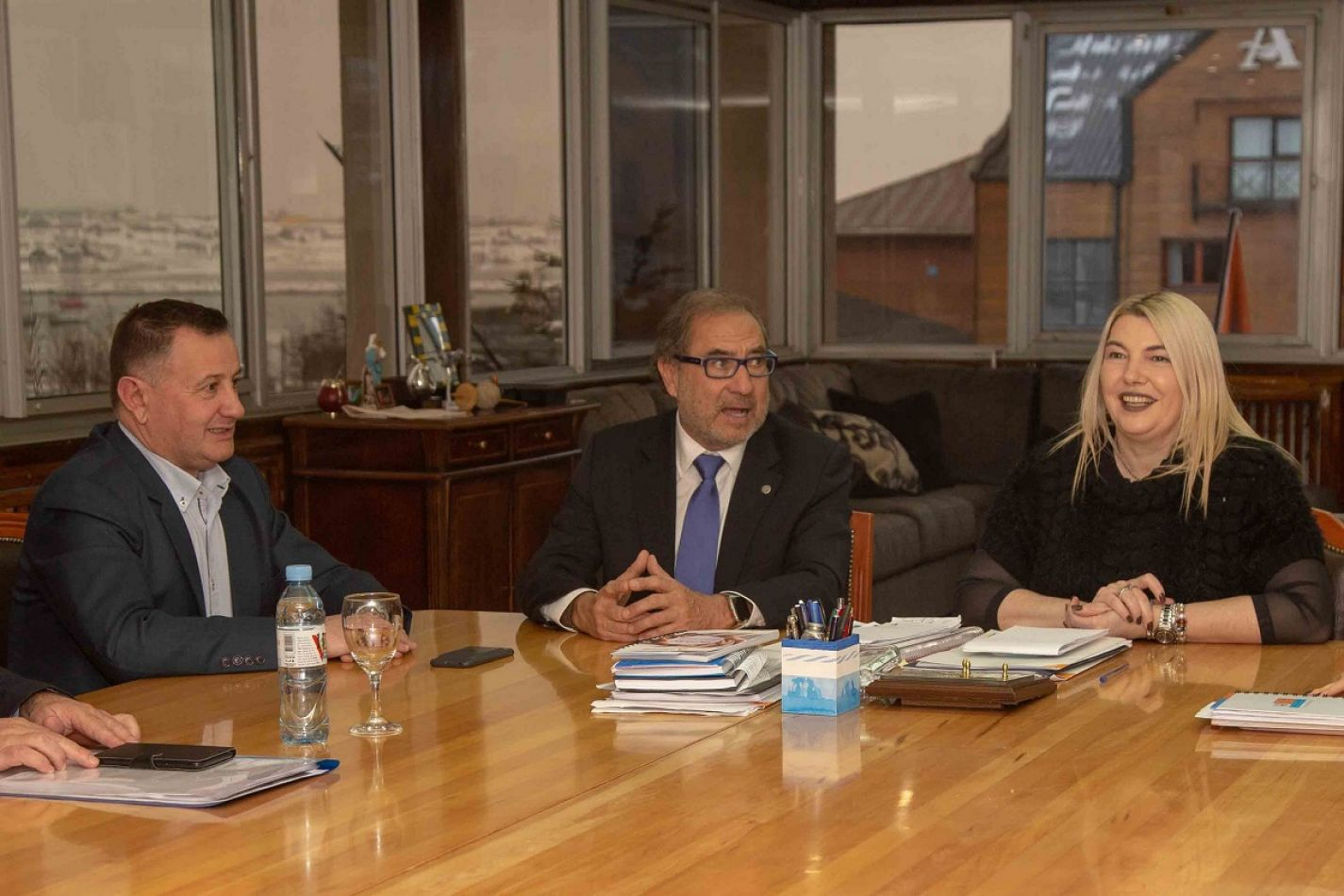 Reunión en Casa de Gobierno por la causa Malvinas