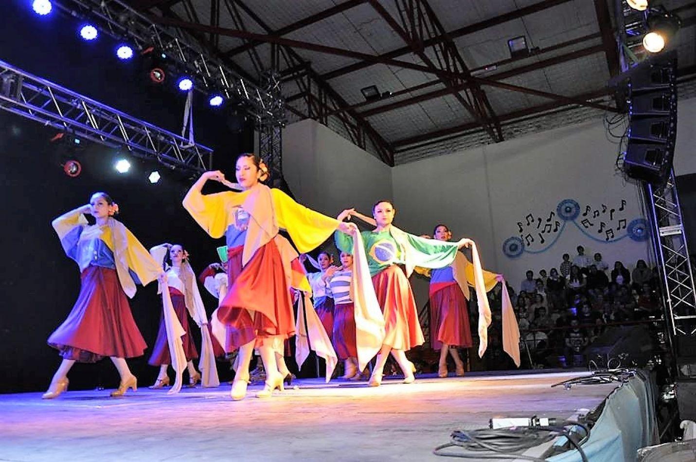 El ballet fueguino, se destaca en cada presentación.