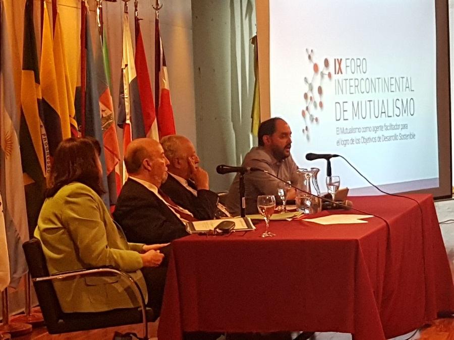 El municipio de Río Grande expuso en el IX Foro Intercontinental de Mutualísmo
