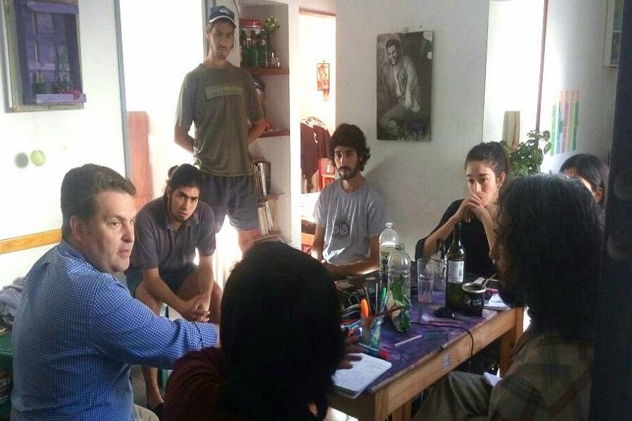 Reapertura de la Residencia Estudiantil de La Plata: Von der Thusen se reunió con estudiantes riograndenses