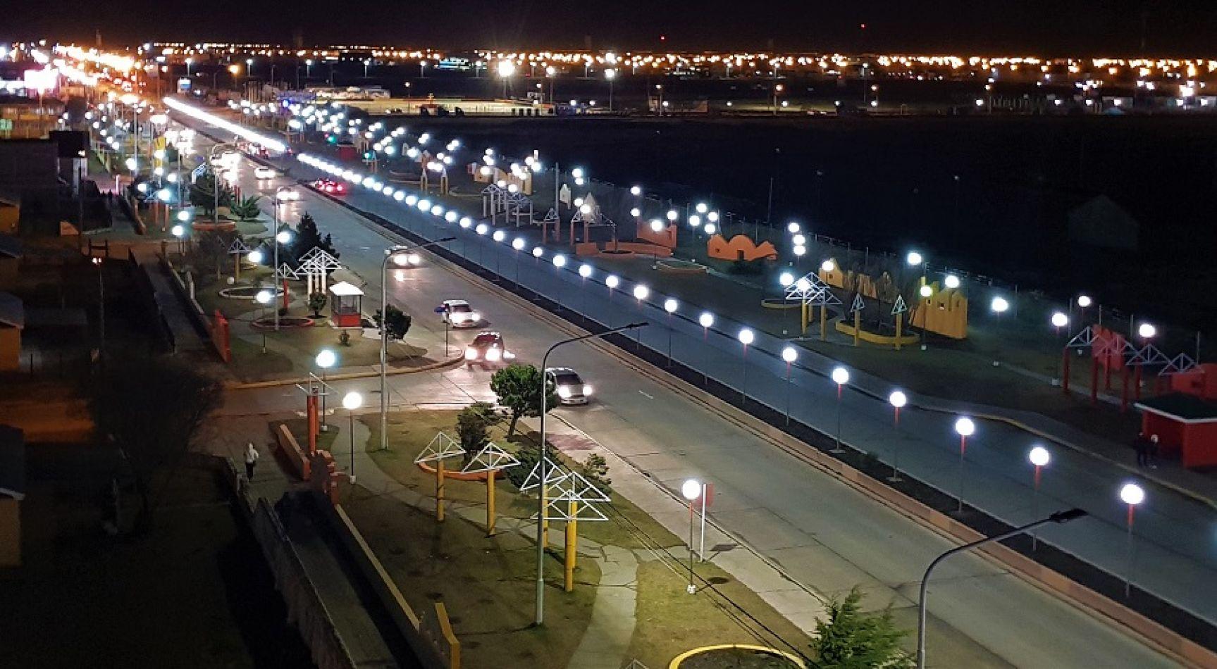 Se culminó el reemplazo de más 600 luminarias por tecnología LED