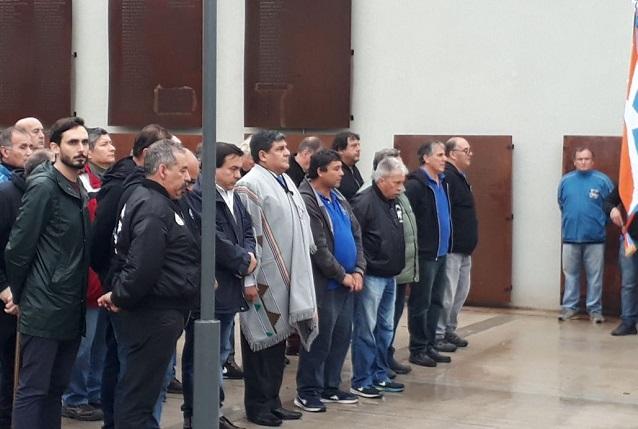Arcando recordó el hundimiento del ARA Gral. Belgrano en Merlo
