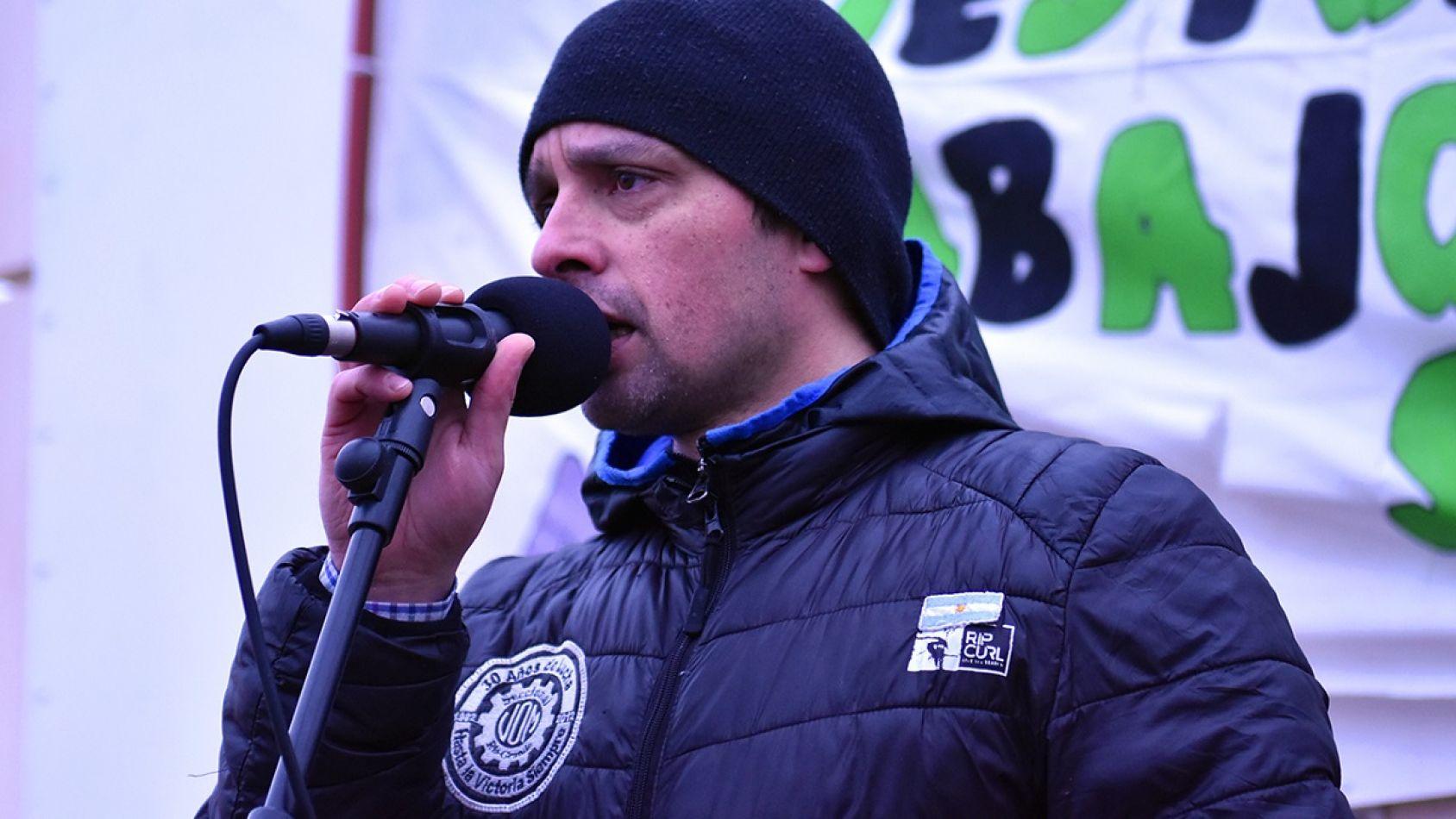 Marcos Linares de la UOM señaló que la lucha continuará.
