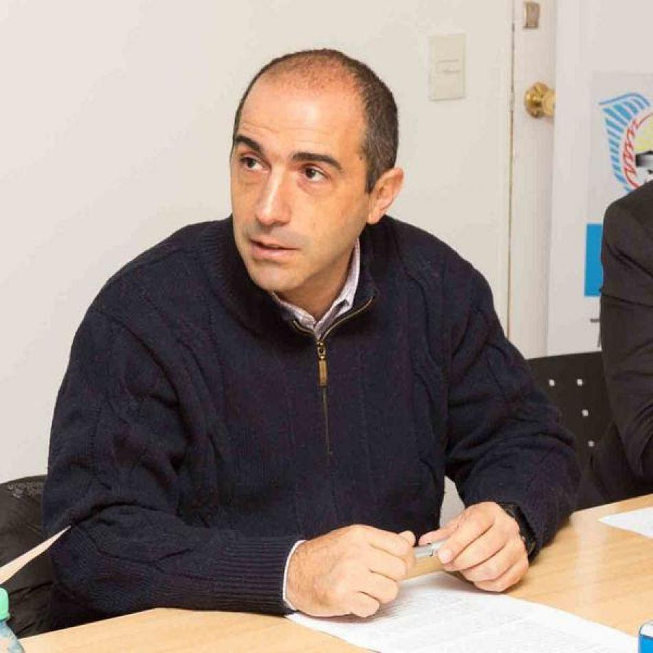 Presidente de la Dirección Provincial de Servicios Sanitarios (DPOSS) Guillermo Worman