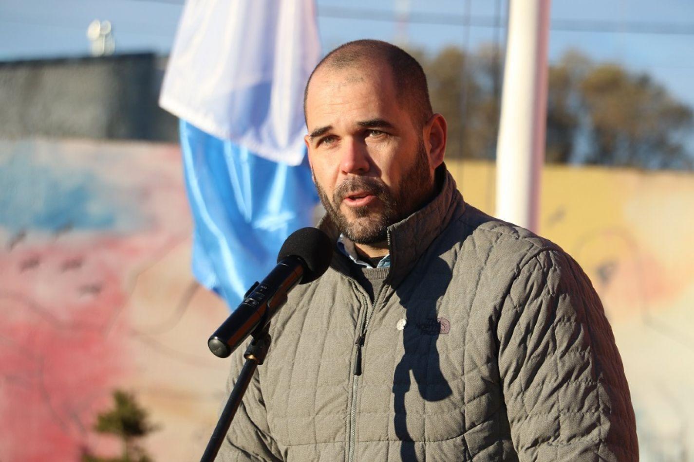 Secretario de Coordinación de Gabinete y Control de Gestión, Lic. Agustín Tita