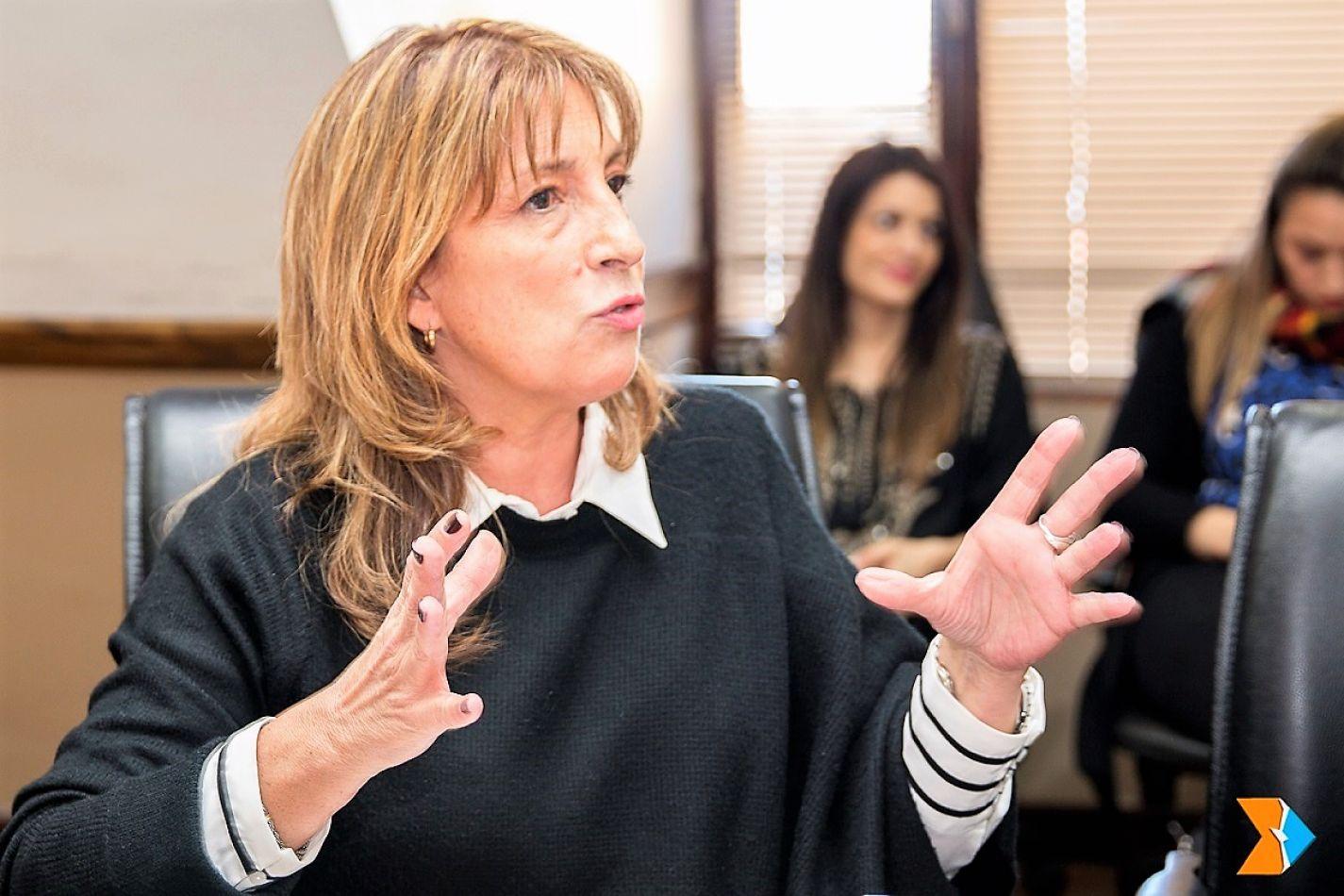 Liliana Margarita Conti, titular de la obra social estatal.