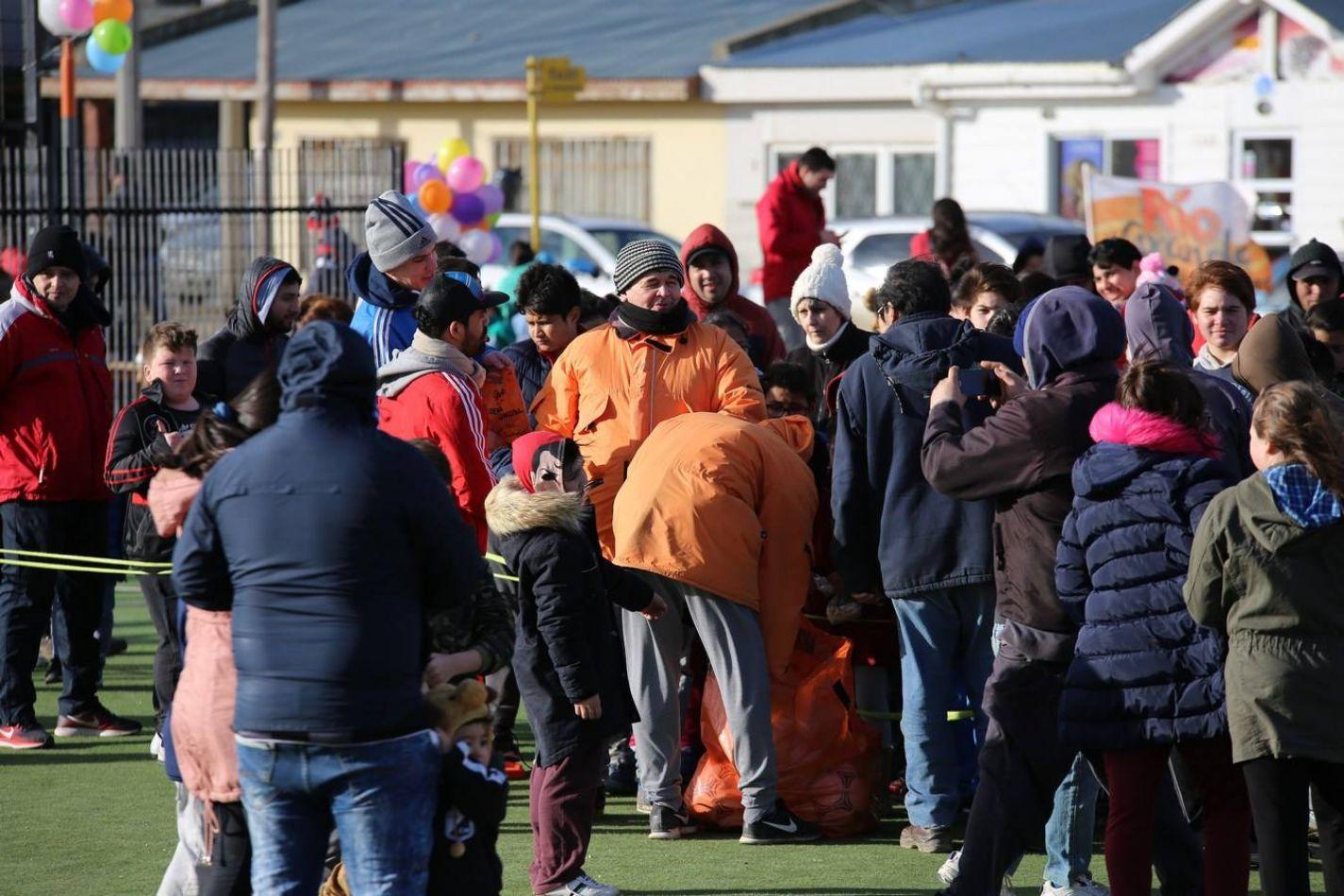 El municipio festejó el Día del Niño con juegos y sorpresas