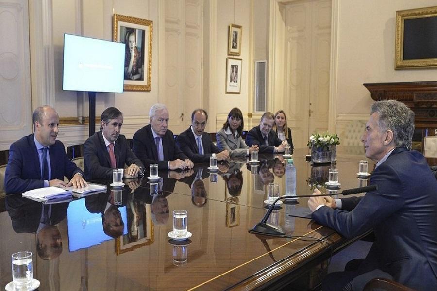 Macri analizó los avances en la redacción del nuevo Código Penal