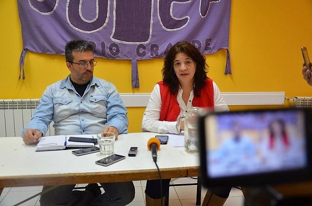 En conferencia de prensa, Sutef ratificó el paro para este miércoles