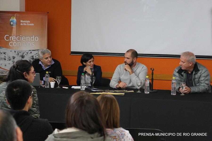 """Se abrió el Espacio INCAA en Río Grande en el marco del festival """"Cine en Grande"""""""