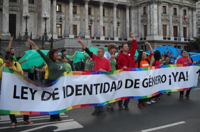 Se cumple 6 años de la sanción de la Ley de Identidad de Género