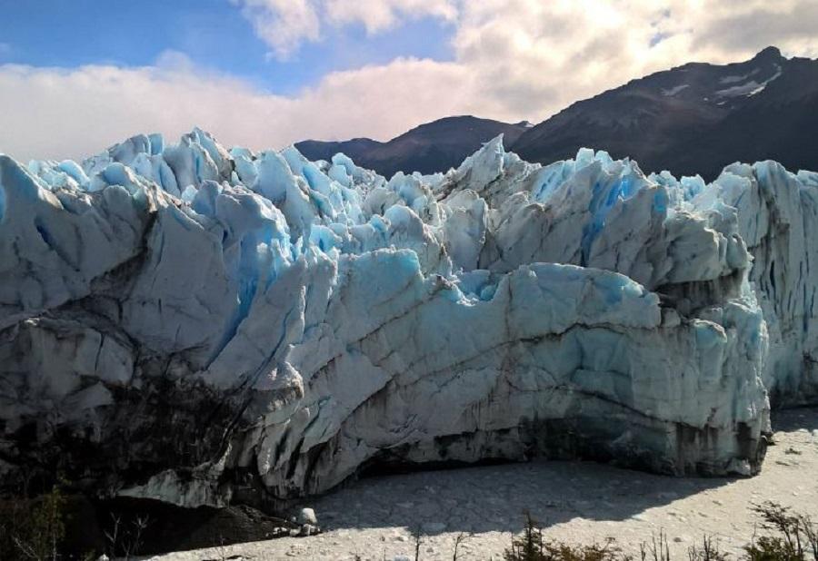 Un satélite muestra el alarmante retroceso de los glaciares patagónicos