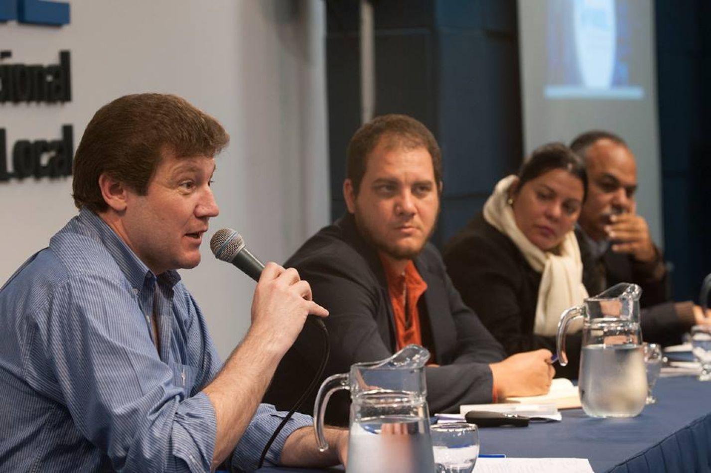 Primera reunión de trabajo conjunta de municipios argentinos y cubanos
