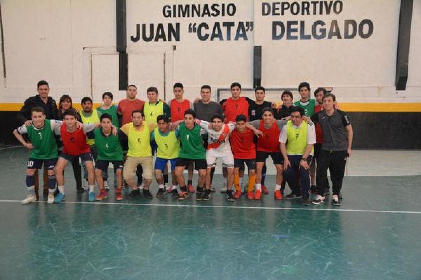 Encuentro deportivo entre internos de la Unidad Penitenciaria y la Selección Juvenil de Río Grande