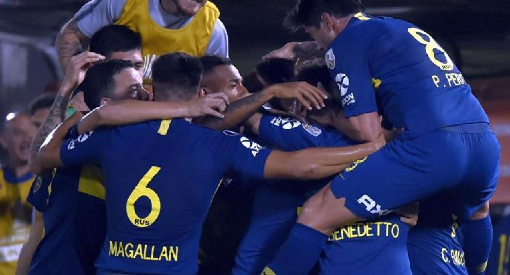 Boca no puso jamás en peligro su clasificación en la noche paraguaya