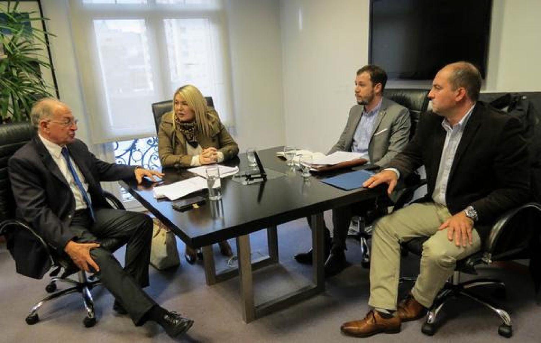 Reunió con el director de Proyectos Especiales del Ministerio de Agroindustria de la Nación, Eduardo Jacobs