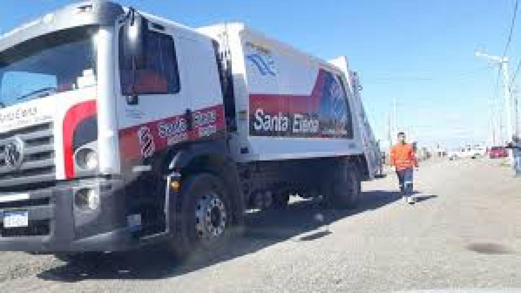 Se normaliza el servicio de recolección de la empresa Santa Elena