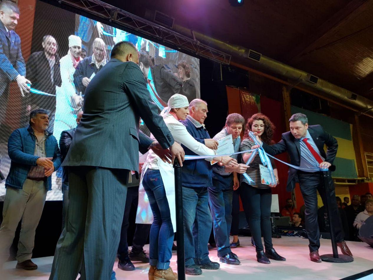 El intendente Gustavo Melella dejó inaugurada la 34ta. Edición de El Desafío de Producir