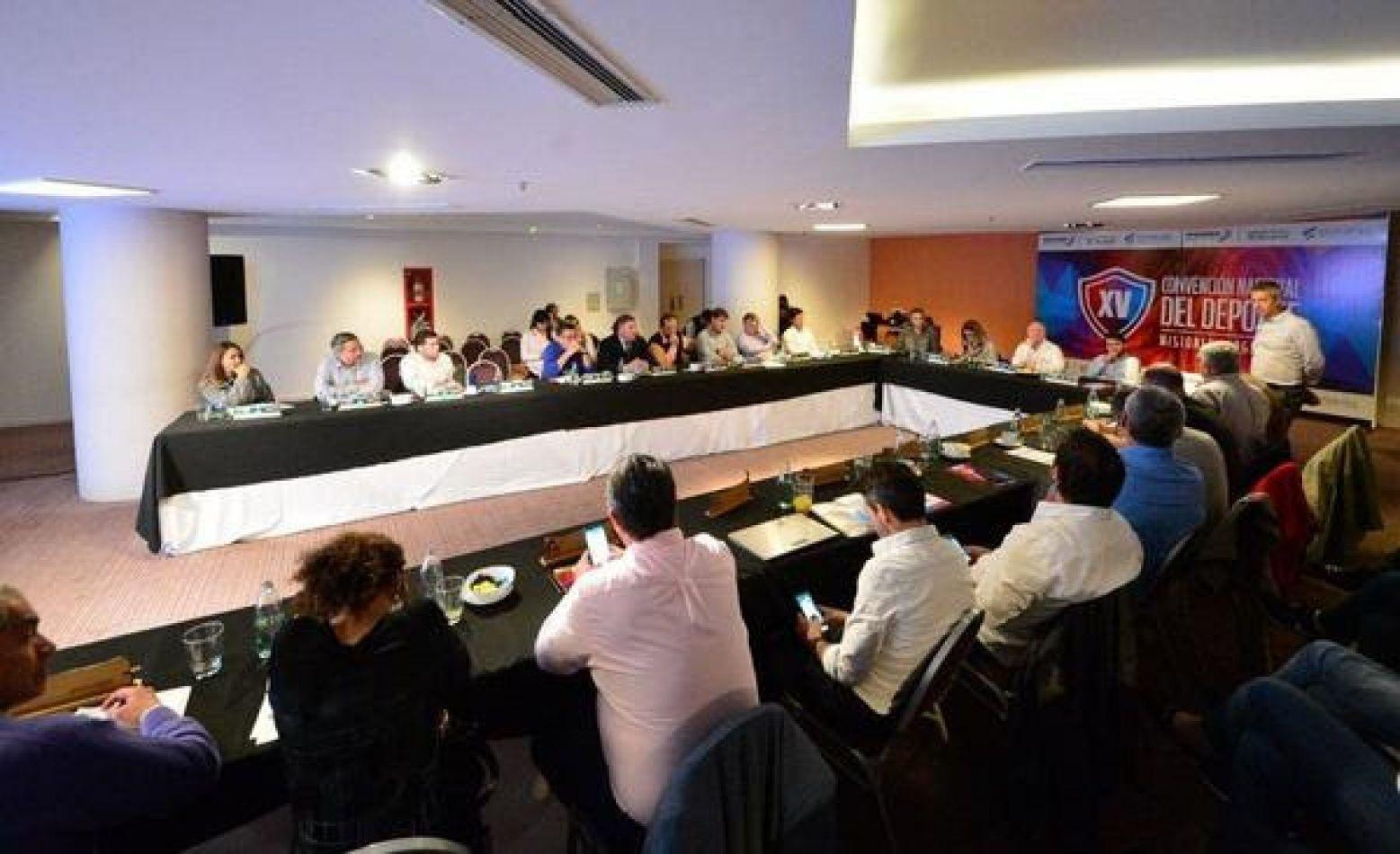 Tierra del Fuego participó de XV Convención Nacional del Deporte