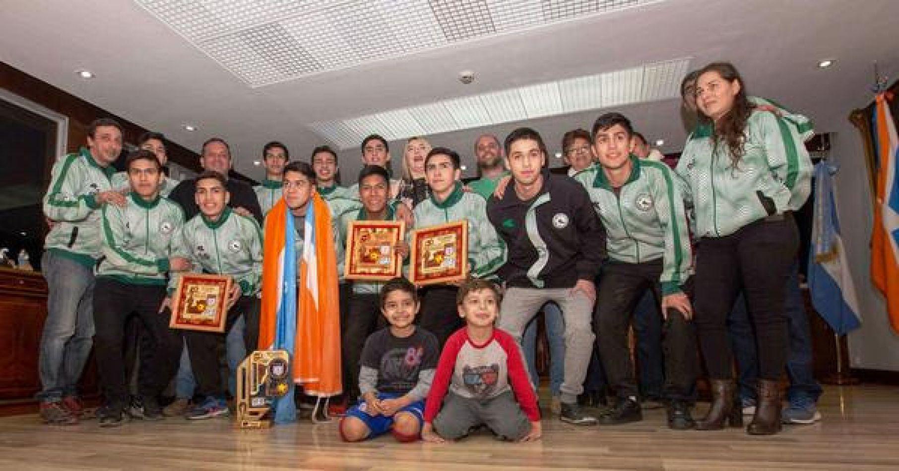 Selección Juvenil Subcampeón Nacional de Futsal
