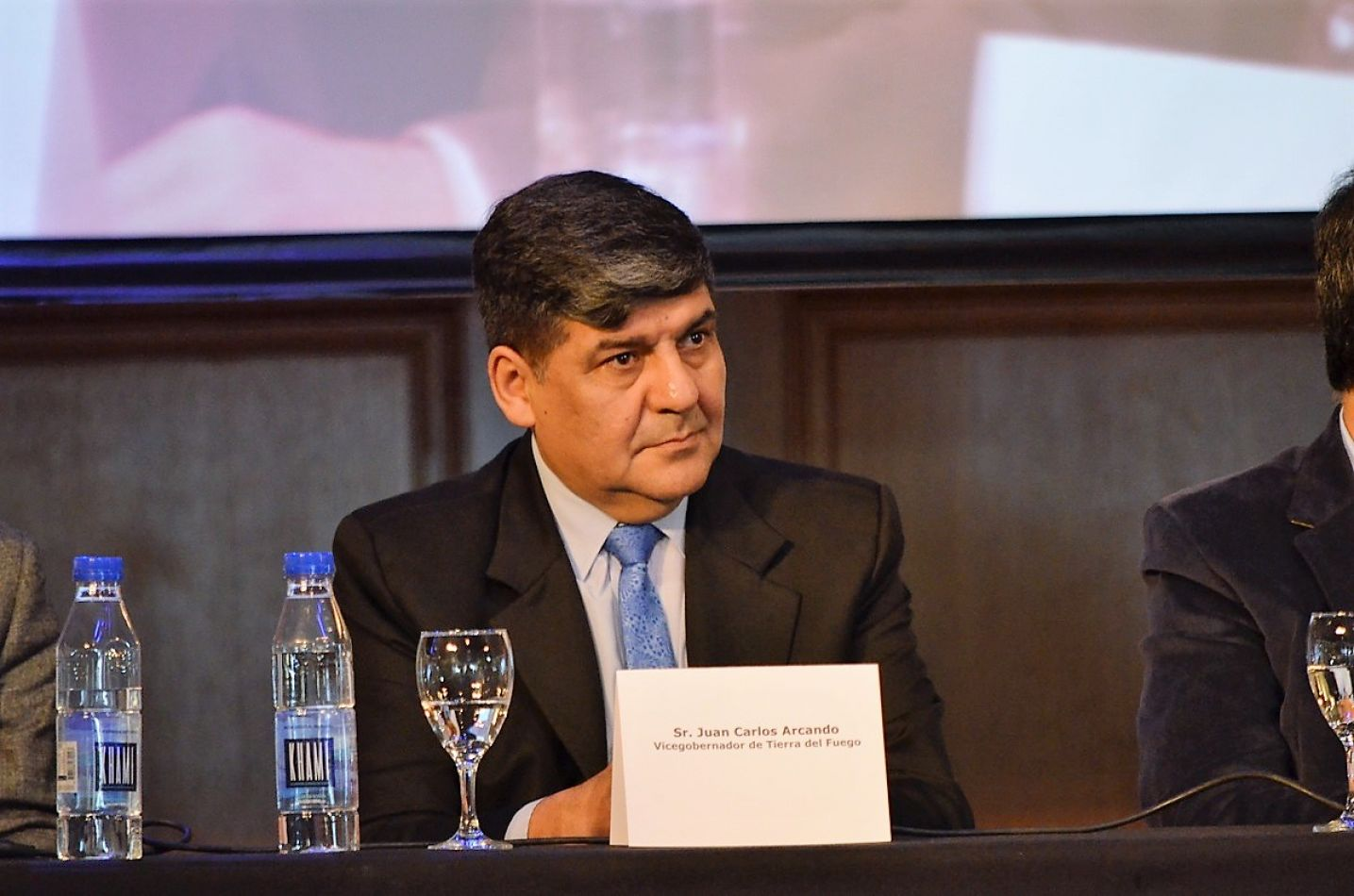 El vicegobernador Juan Carlos Arcando participó de la apertura del II Foro de la CAME.