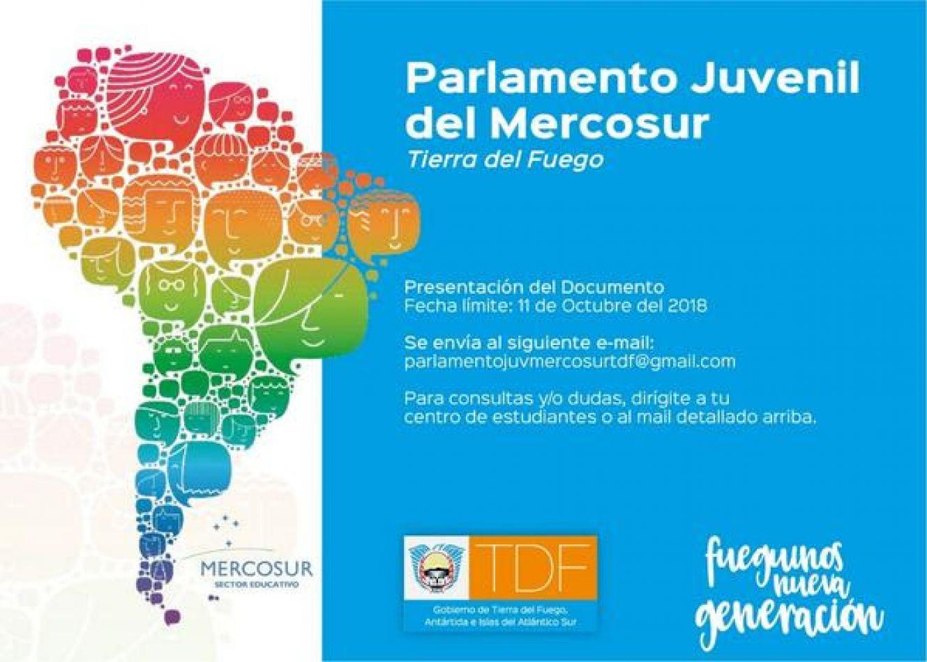 Nueva edición del Parlamento Juvenil del Mercosur