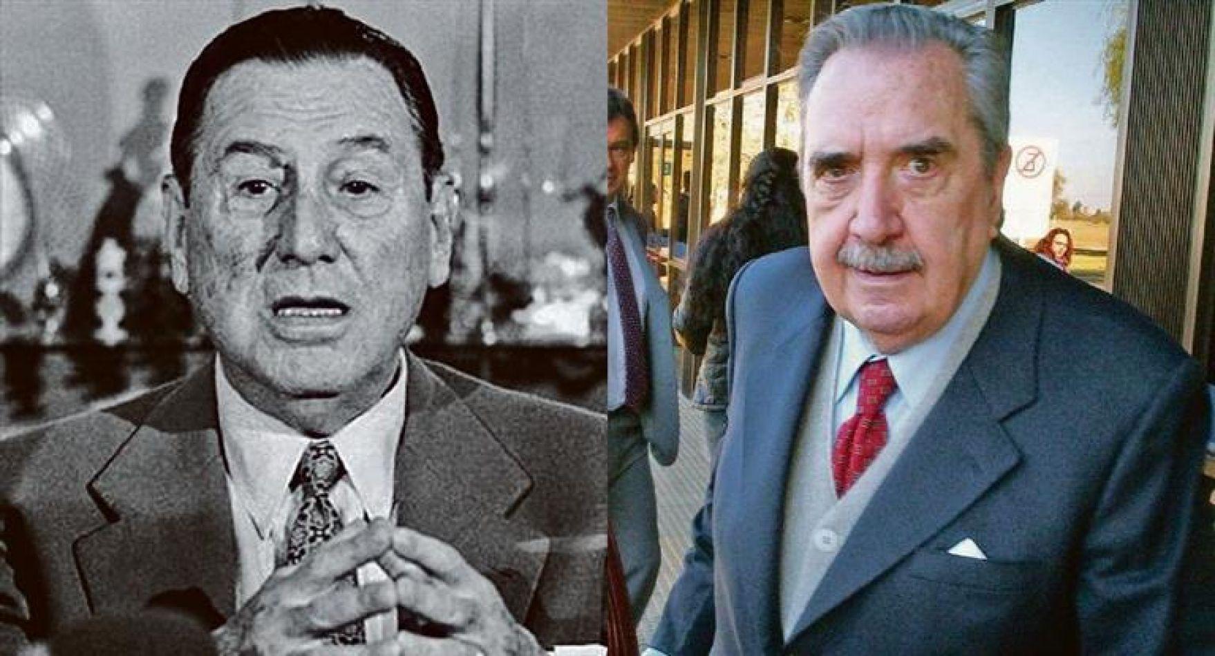 Juan D. Perón y Raúl R. Alfonsín.