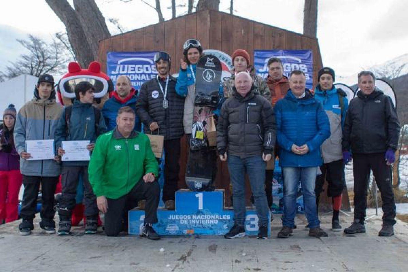 Tierra del Fuego hizo podios en el primer día de Juegos de Invierno