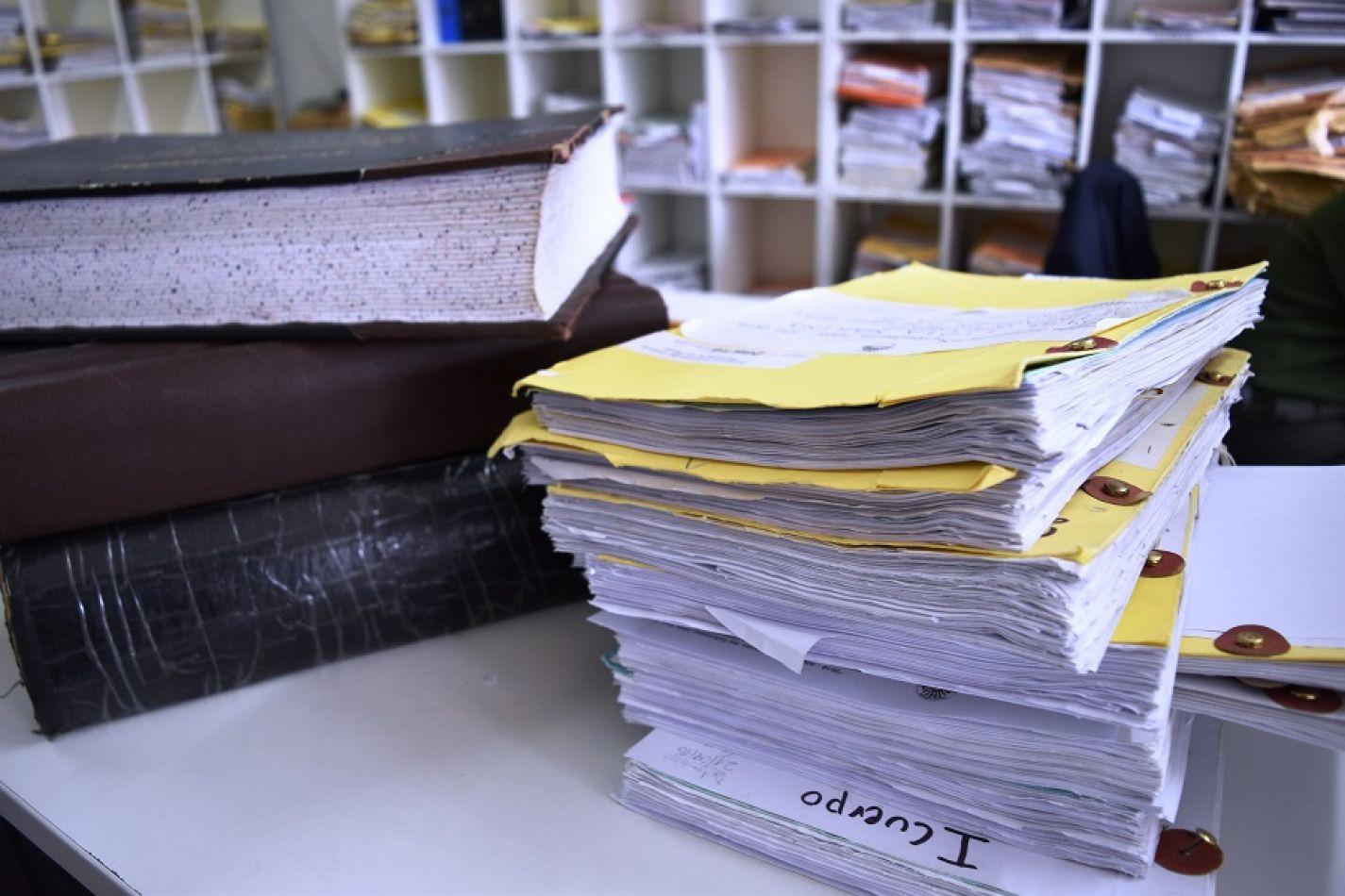 Destruyen documentación interna del Área de la Administración