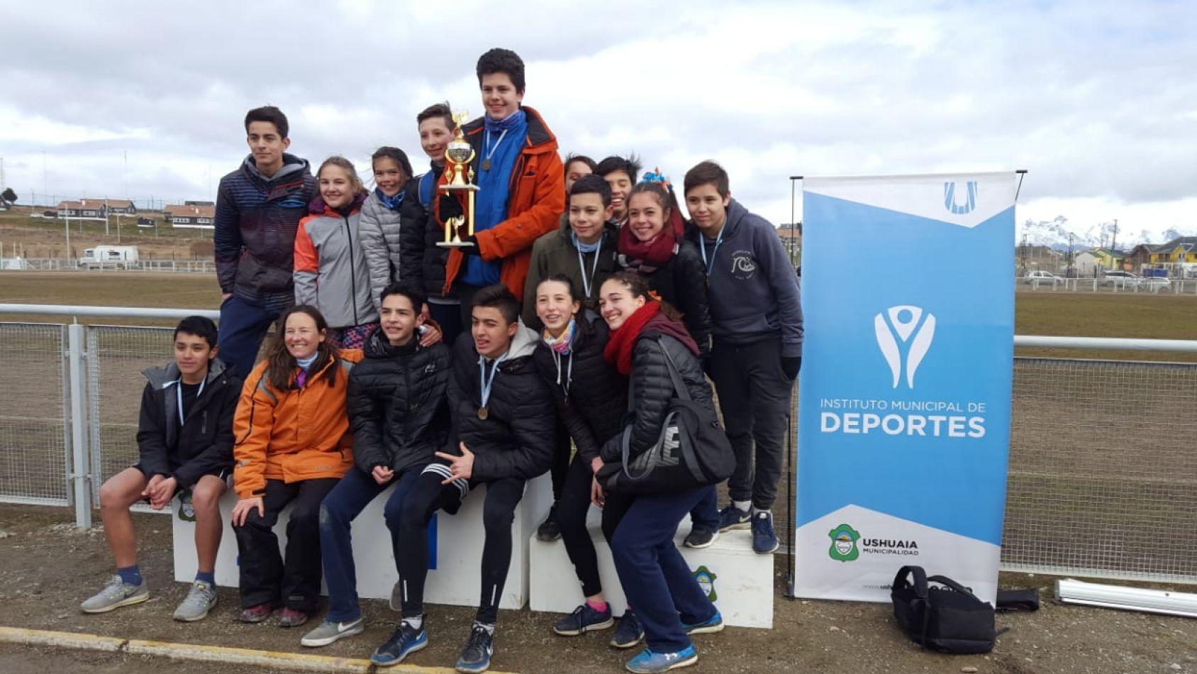 Torneo Pre Evita de Atletismo en la ciudad de Ushuaia,