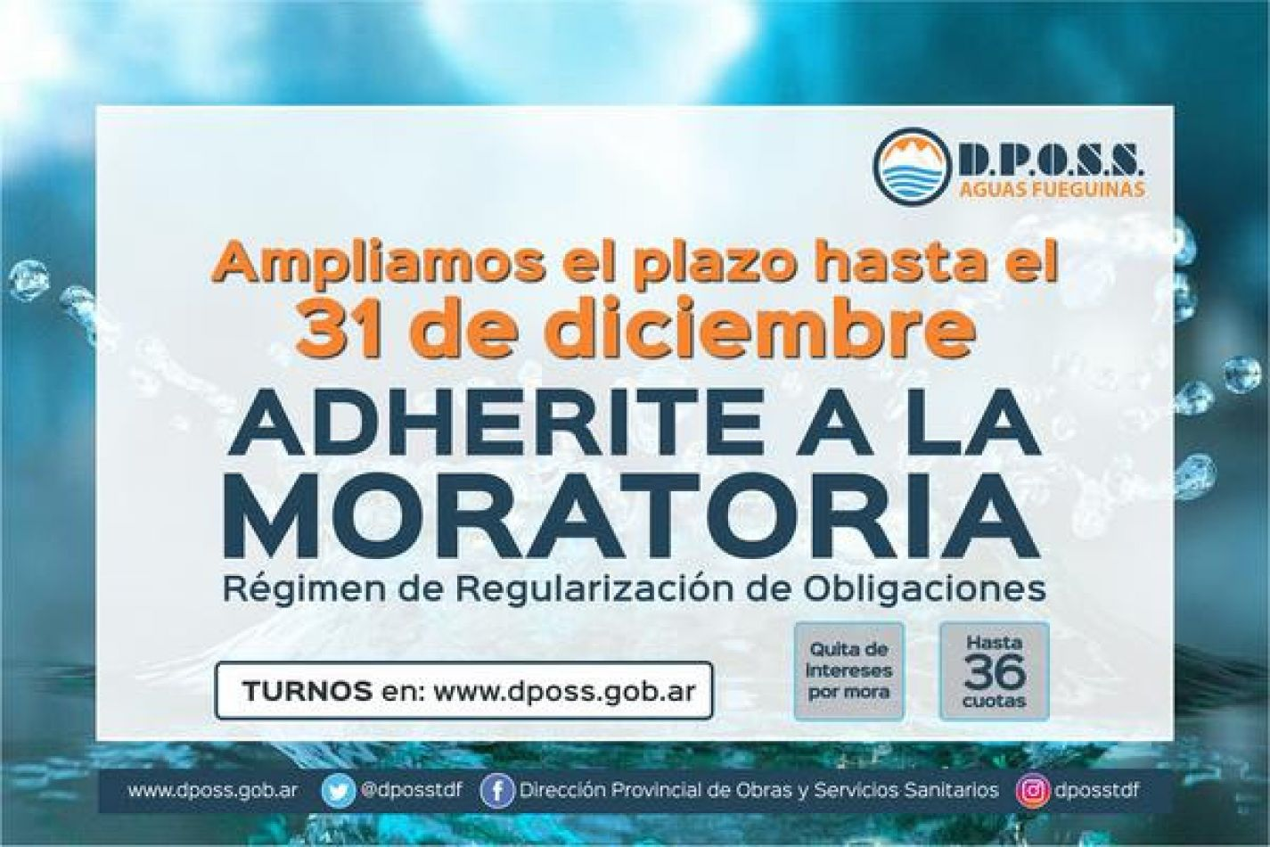 Moratoria Dposs