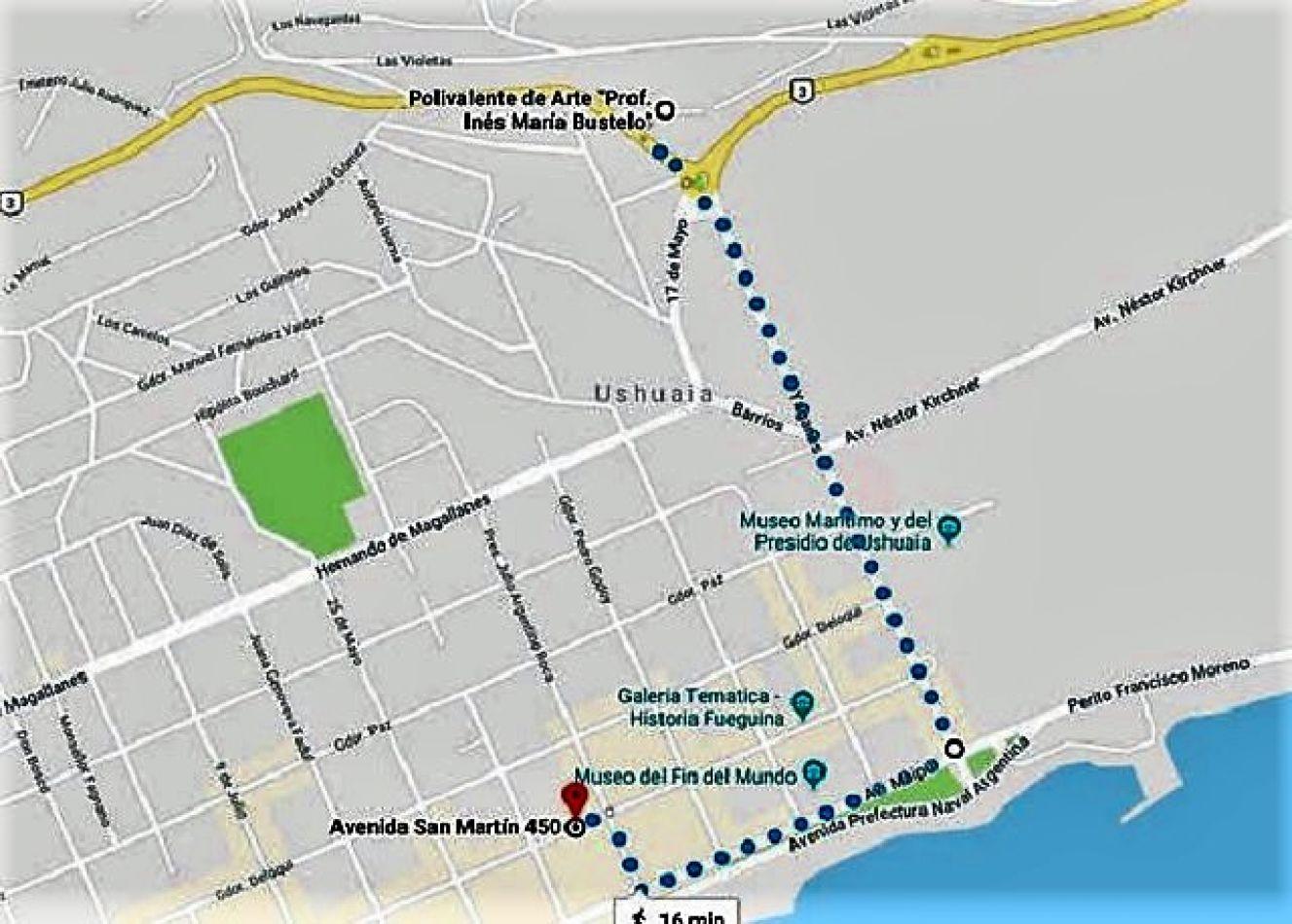 Ushuaia será sede del próximo relevo del Tour de la Antorcha