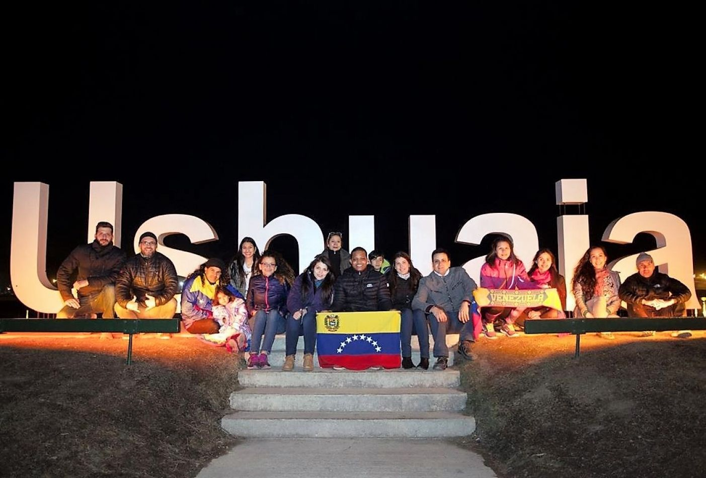 Venezolanos, en el Fin del Mundo