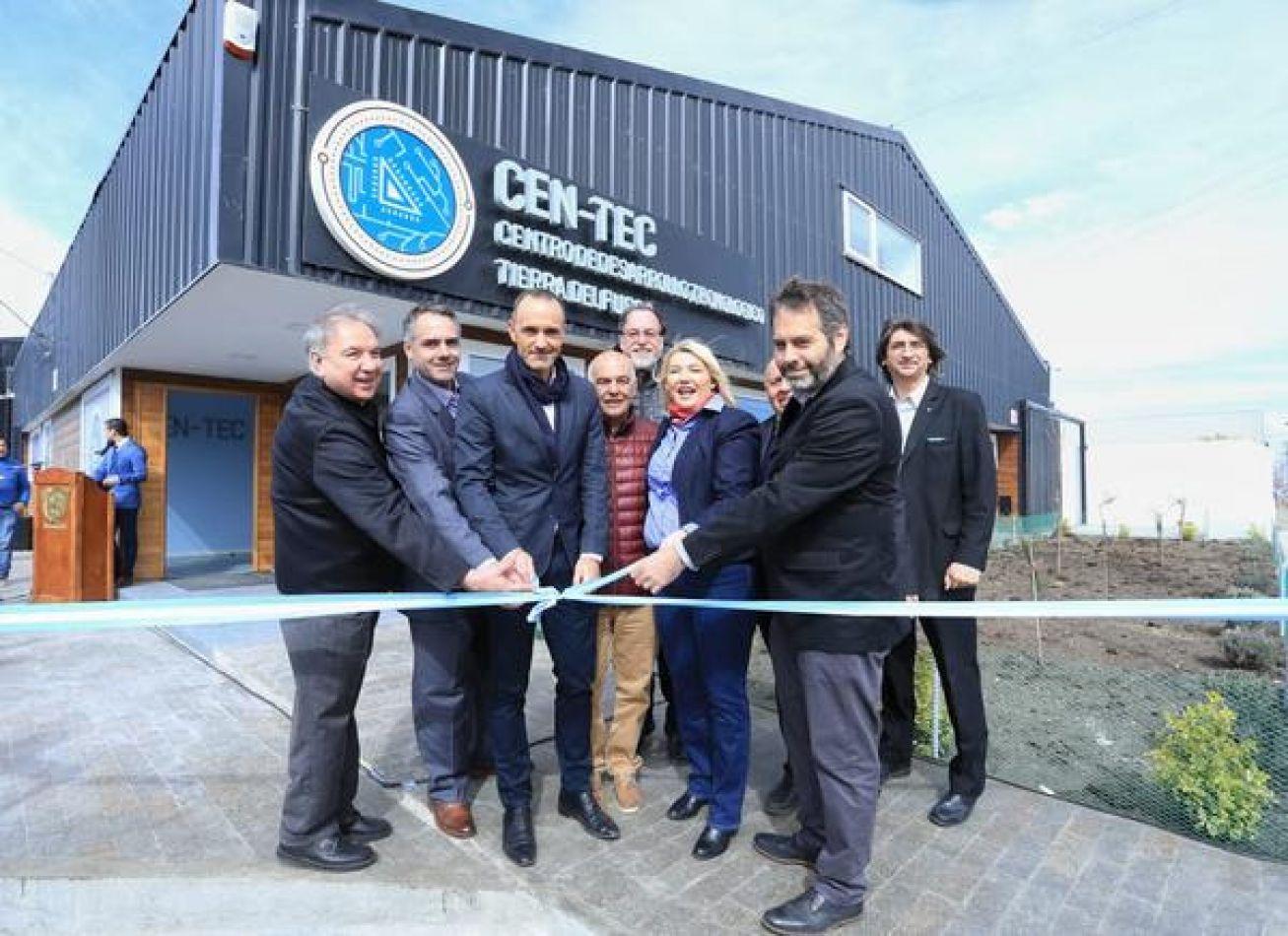 Se inauguró el Centro de Desarrollo Tecnológico de Tierra del Fuego