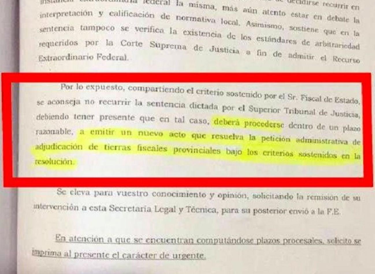 Alvarez responsabilizó a Ríos por la entrega de tierras en Tolhuin