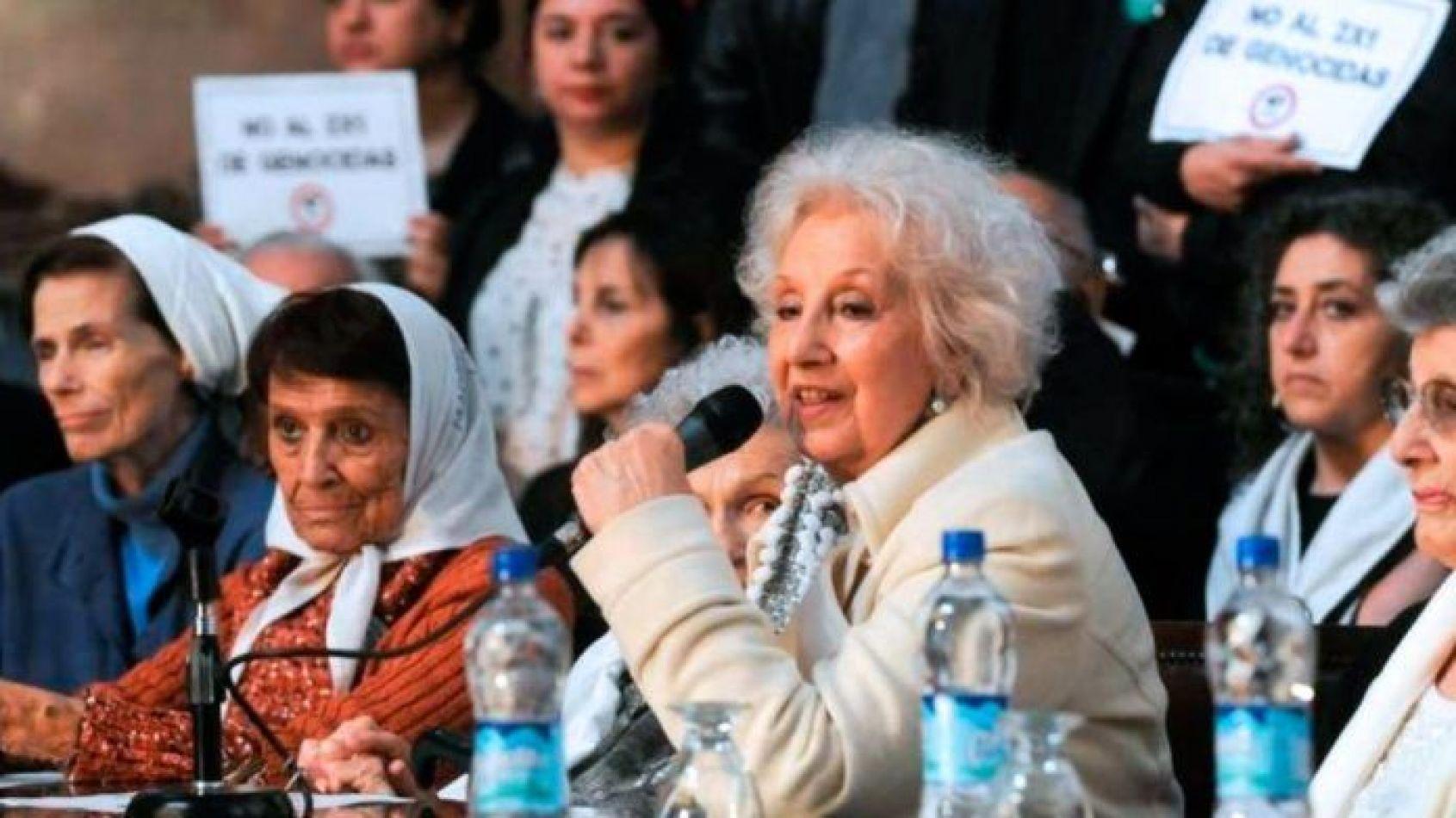 el organismo presidido por Estela de Carlotto convocó a una conferencia de prensa este jueves, a las 13, donde darán a conocer detalles