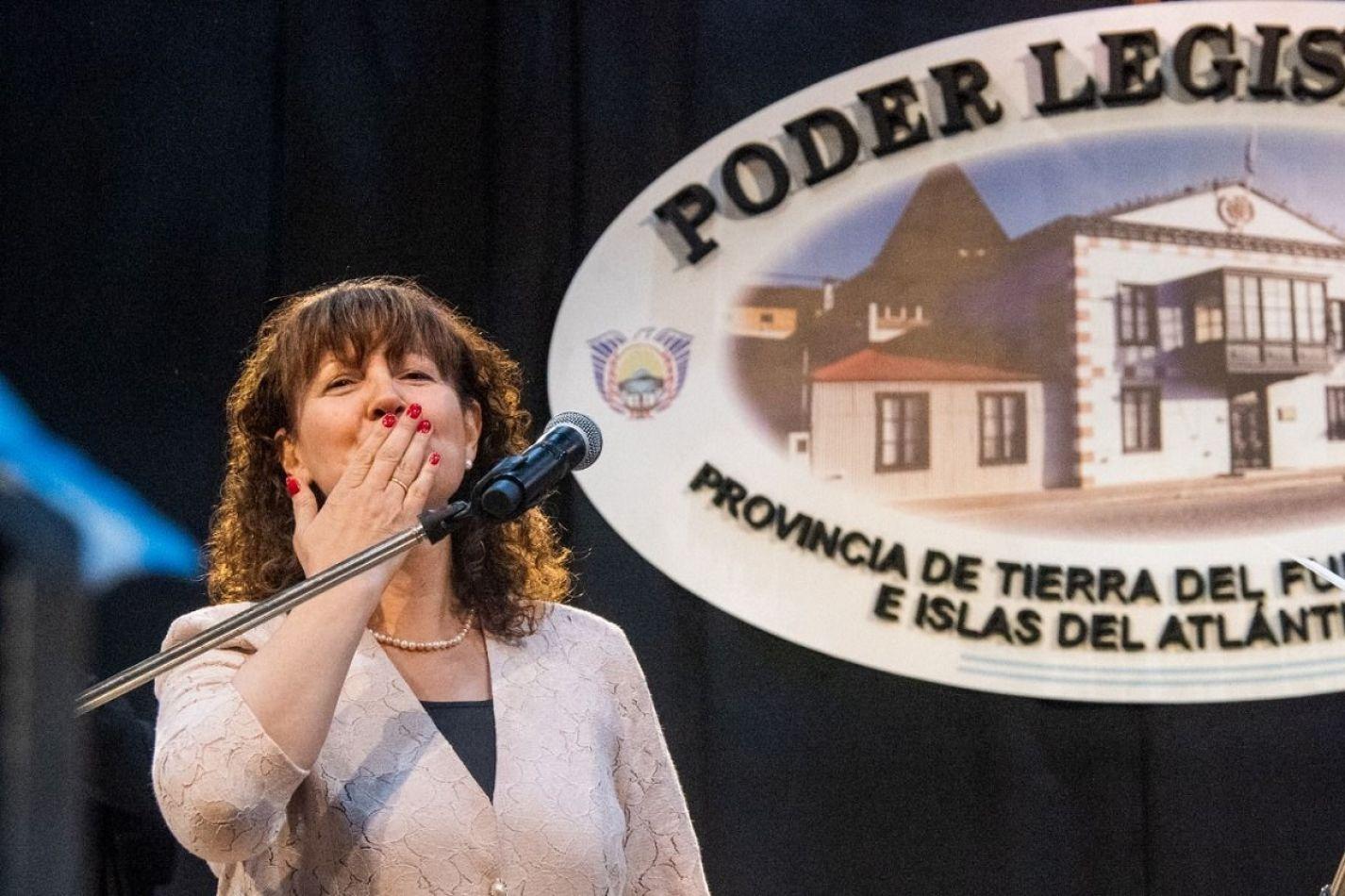 Mónica Urquiza, vicegobernadora de Tierra del Fuego.