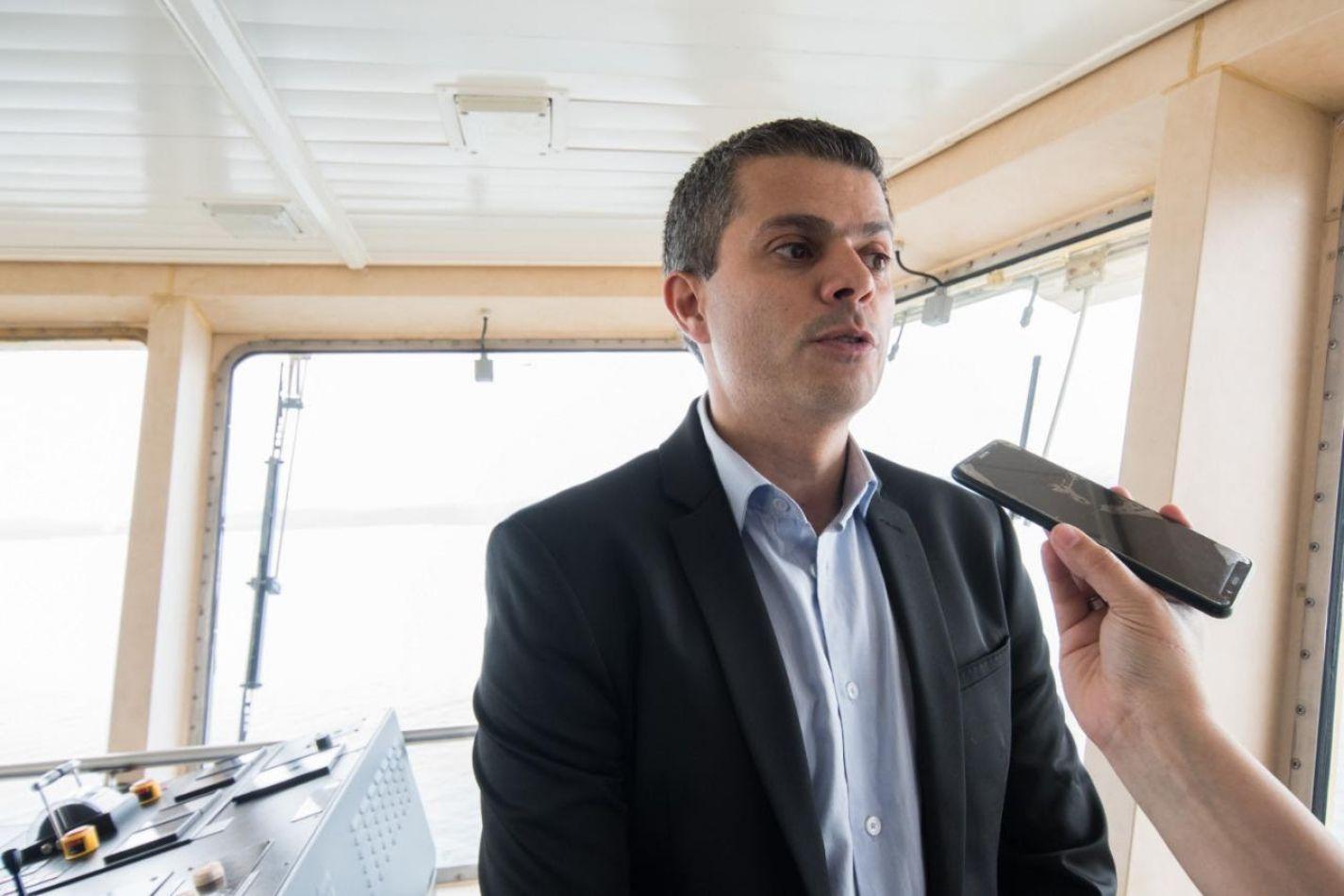 Secretario de Malvinas, Antártida, Islas del Atlántico Sur y Asuntos Internacionales, Andrés Dachary,
