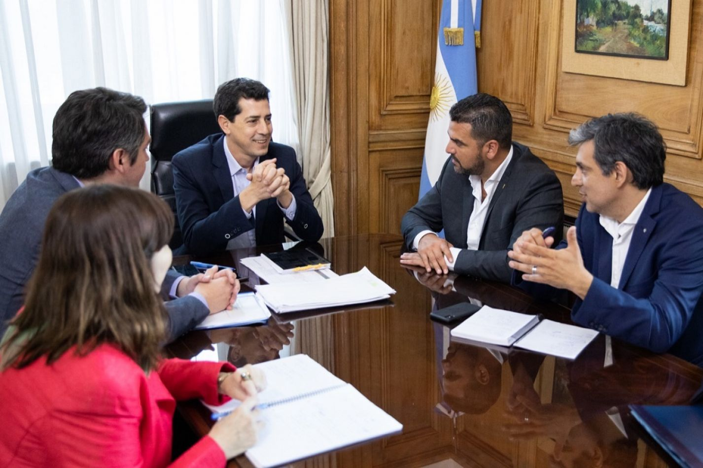 Intensa actividad de Vuoto y Perez en Buenos Aires