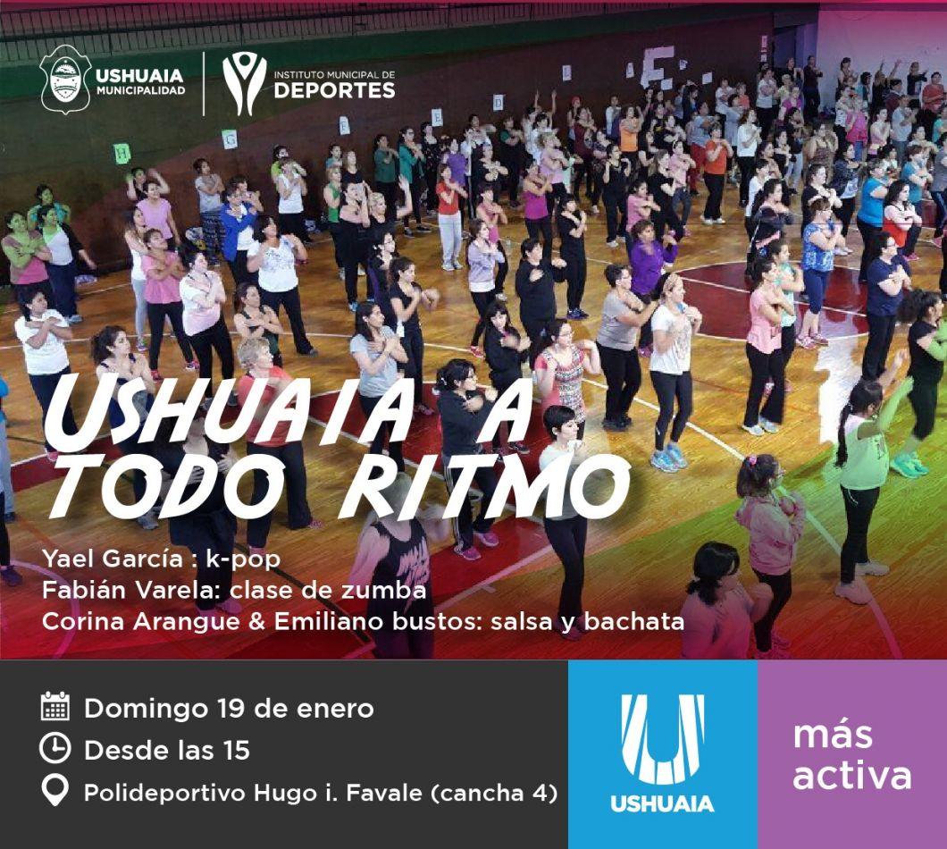 """Jornada deportiva y recreativa en el marco del programa """"Ushuaia a todo ritmo"""""""