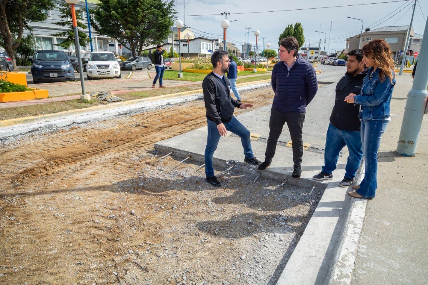 """Perez: """"La urgencia es lograr calles en condiciones y con arreglos definitivos"""""""