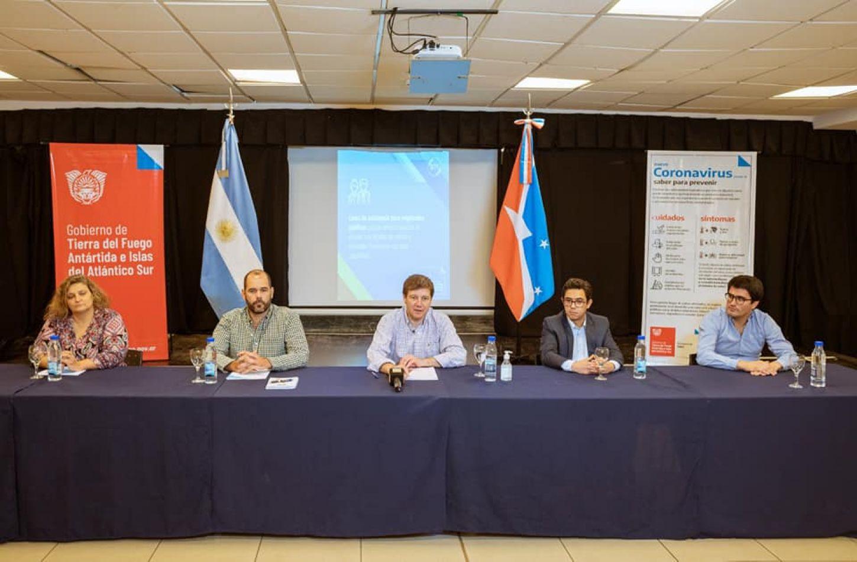 El Gobernador Gustavo Melella anunció el plan de emergencia provincial