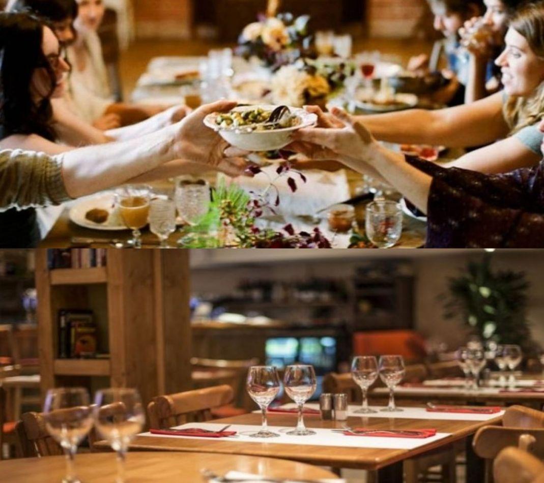 Se habilitarían reuniones familiares, bares y restaurantes