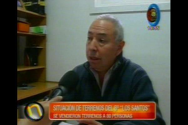 Felipe Villordo, propietario de inmobiliaria Imperio.