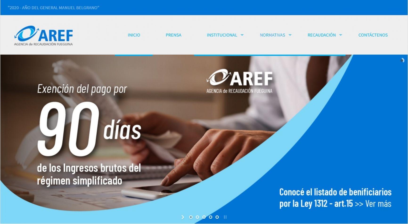 AREF otorgó la exención del pago del impuesto sobre ingresos brutos